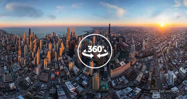 Virtual tours 360 degrees views